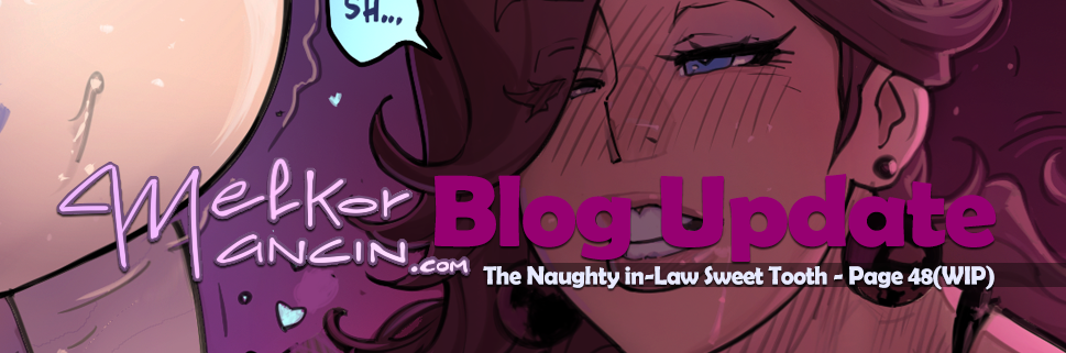 The Naughty in-Law Sweet Tooth - Page 48(WIP)