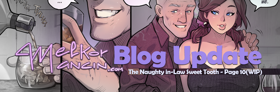 The Naughty In-Law: Sweet Tooth - Page 10(WIP)