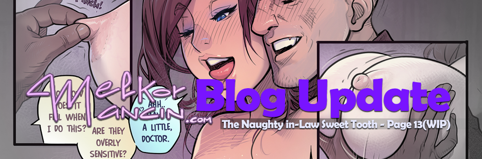 The Naughty in Law 4: Sweet Tooth – Page 13(WIP)