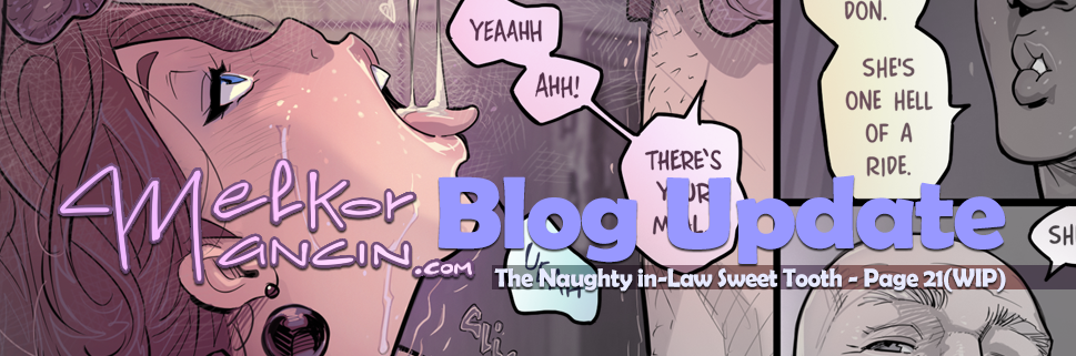 The Naughty in Law 4: Sweet Tooth – Page 21(WIP)