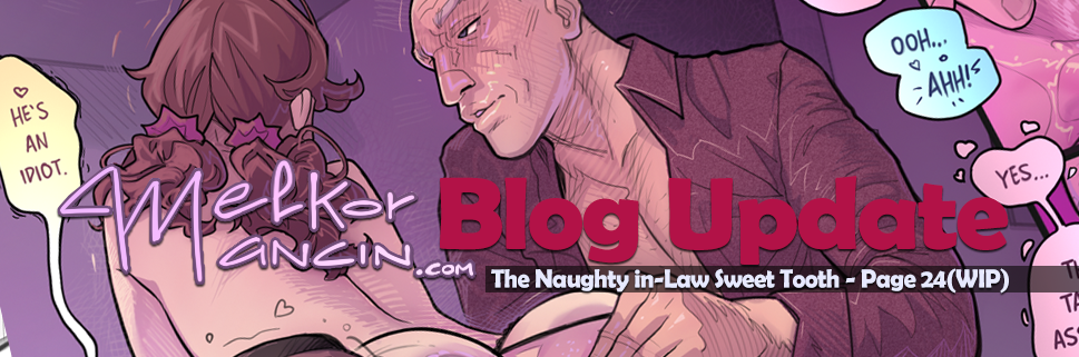 The Naughty in Law 4: Sweet Tooth – Page 24(WIP)